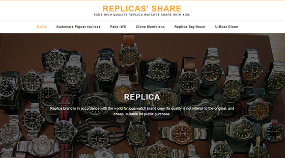 replicas website